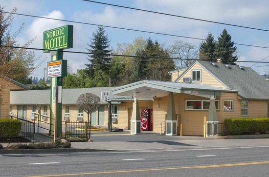 Nordic Motel : Front Entrance