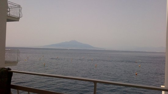 Hotel Admiral Sorrento: View from room 208 balcony