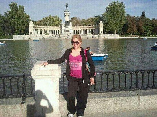 Parque del Retiro: Viaje a Madrid