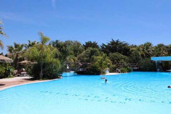Oleandri Resort Paestum - Hotel Residence Villaggio Club: бассейн