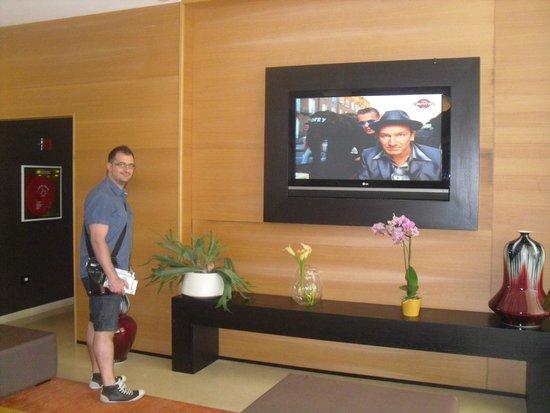 Sanlu Hotel : sala tv