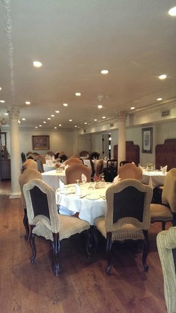 The Mansion Restaurant at Nottoway : Salle interieure