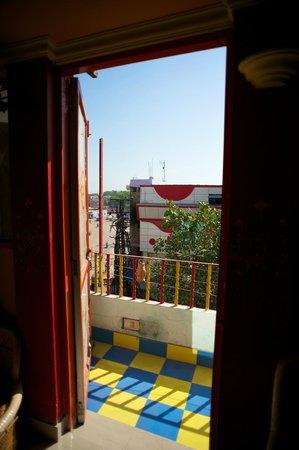 Govind Hotel: Penthouse suite balcony