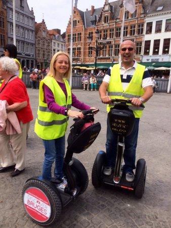 Segway Bruges: Brill !