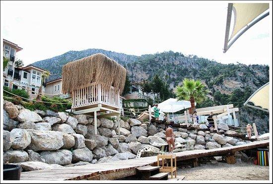 Liberty Hotels Lykia : przy plaży/ teren hotelu