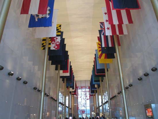John F. Kennedy Center for the Performing Arts : Hall of Nations