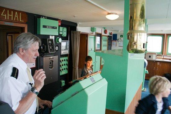 SS Rotterdam: Tour over het schip