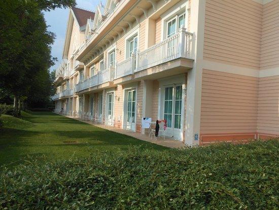 Gardaland Hotel : Esterno stanze