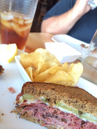 The Horse Radish: Pastrami on Gluten-free bread