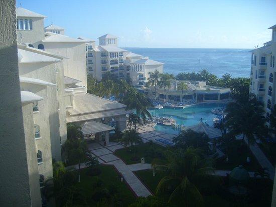Occidental Costa Cancun: vista desde habitacion 5 piso