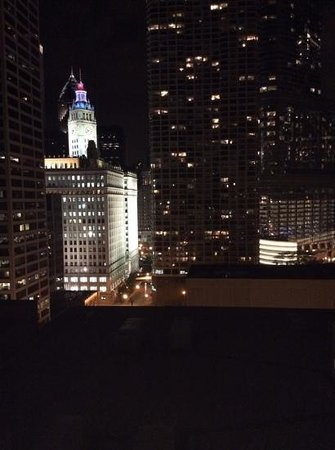 Homewood Suites by Hilton Chicago-Downtown: Blick aus Zimmer 1504 am 04.07.