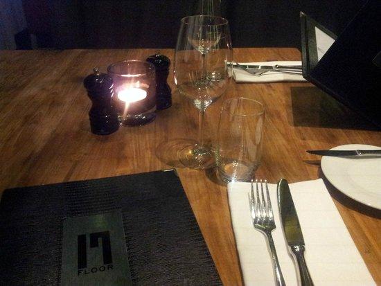 Ramada Apollo Amsterdam Centre: 17th Floor Dinner