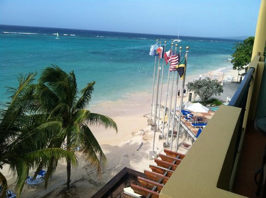 Jewel Dunn's River Beach Resort & Spa, Ocho Rios,Curio Collection by Hilton: View from our Ocean View Diamond Butler Suite
