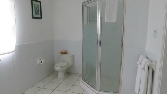 Oualie Beach Resort: Toilet and Shower