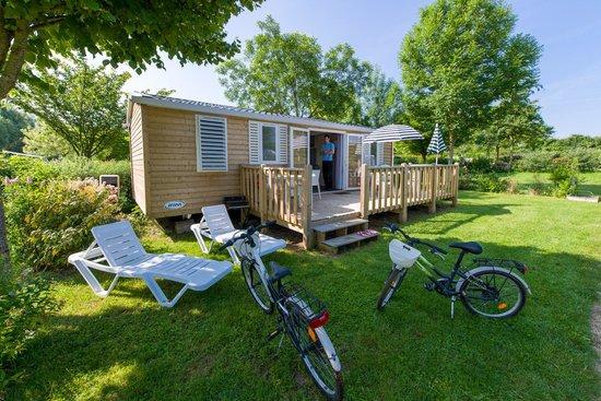 Camping de L'Etang : cottage 3 chambres