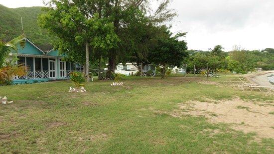 Oualie Beach Resort: Grounds