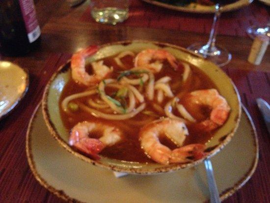 Artesian Restaurant: Shrimps udon