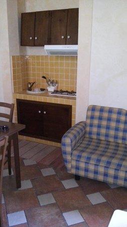 Villa Carati: angolo cottura