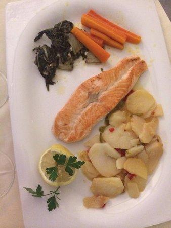 Restaurante Gavia: Saumon