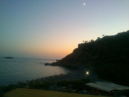 Markos Studios: Sunset from room