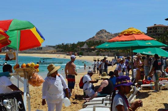 Medano Beach: busy beach