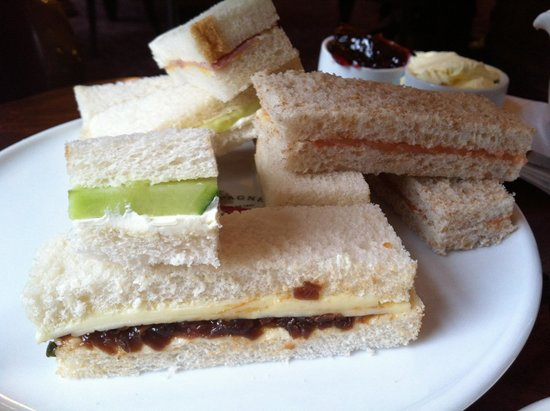 Hotel Russell: Classic sandwiches