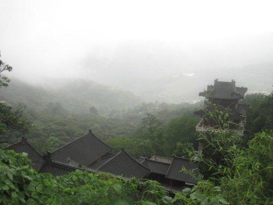 Mt Huaguoshan: view