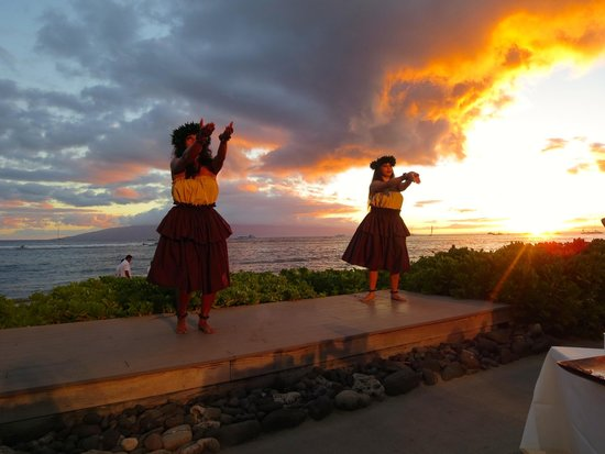 Feast At Lele: Dancers at Sunset
