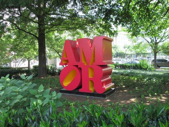 National Gallery of Art - Sculpture Garden: Amor Sculpture