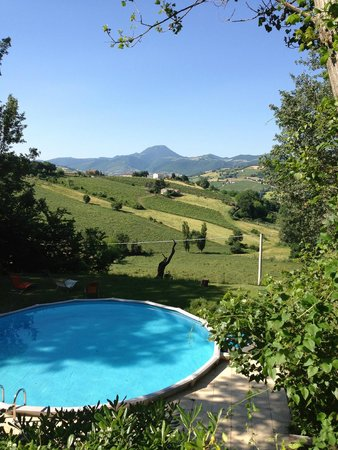 La Girandola: The view