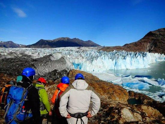 Glaciar Viedma: Ingresando al Glaciar