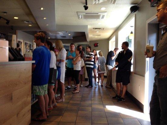 Starbucks: Big Line