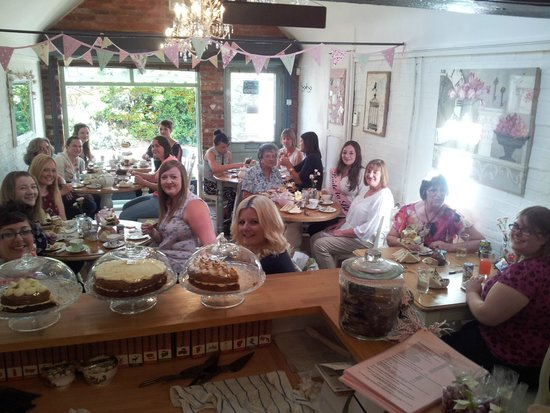 Elsies Traditional Tea Room: my bridal tea party - group photo