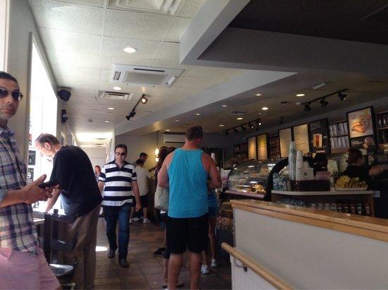 Starbucks: Lots of people