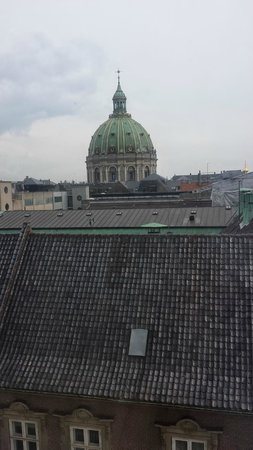 Phoenix Copenhagen: 4th floor view - Copenhagen Cathedral