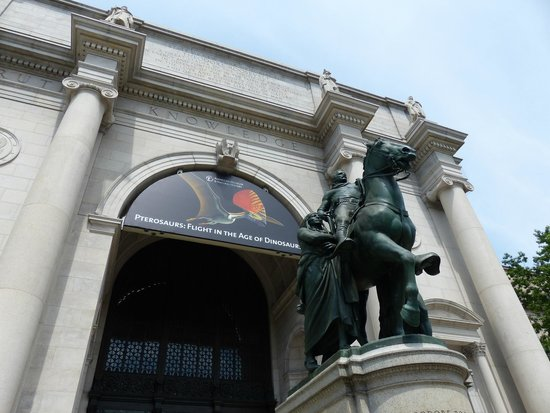 American Museum of Natural History: out front