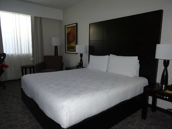 Hilton Garden Inn Tuxtla Gutierrez: Our bedroom