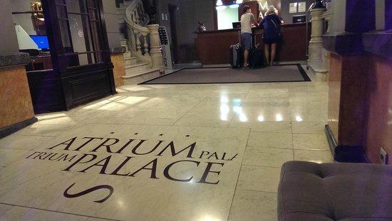 Hotel Acta Atrium Palace: lobby
