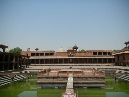 Fatehpur Sikri : Seconde cour