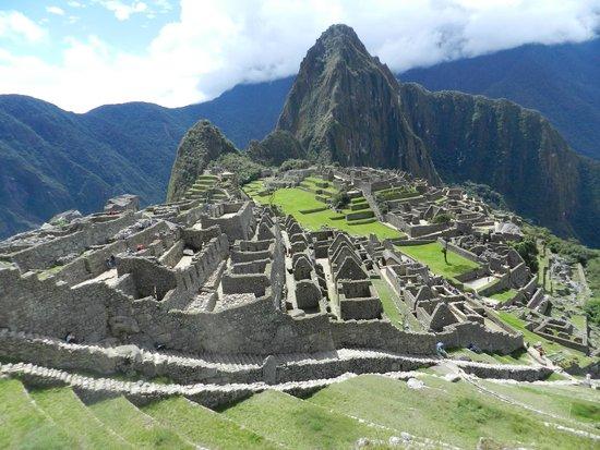 Casa de Luz / La Pequena Casita Hotel : Magestuoso Machu Picchu