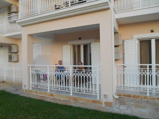 Elea Hotel: 4 persoonsappartement begane grond hoek