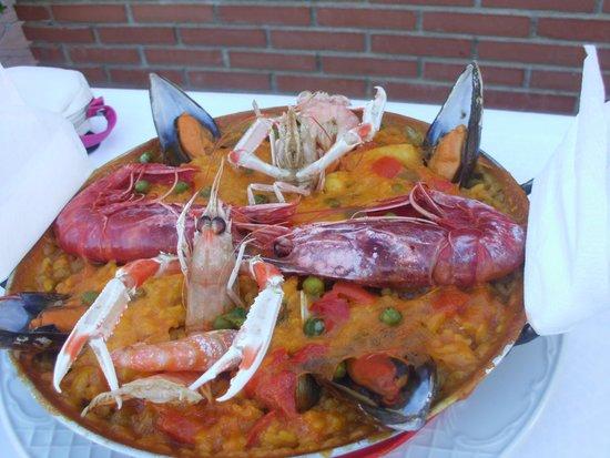 Restaurante Los Remos Lázaro: Seafood Paella