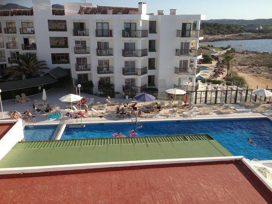 Nereida Aparthotel: View from our room