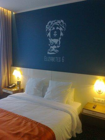 Mercure Riga Centre : Very comfortable bed