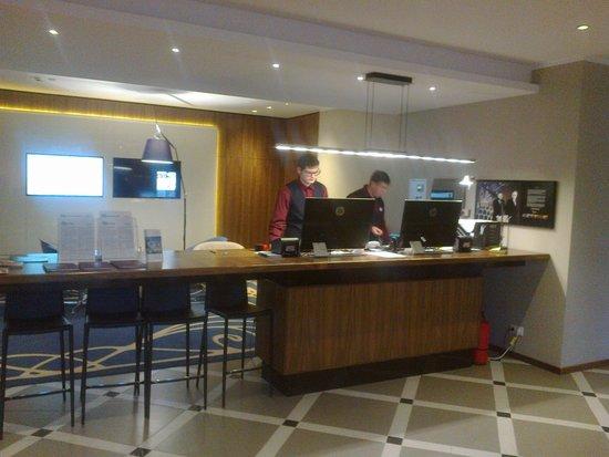 Mercure Riga Centre : The reception