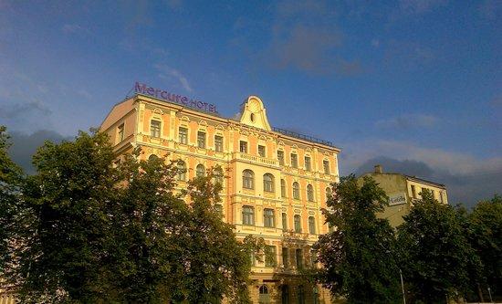 Mercure Riga Centre: The facade