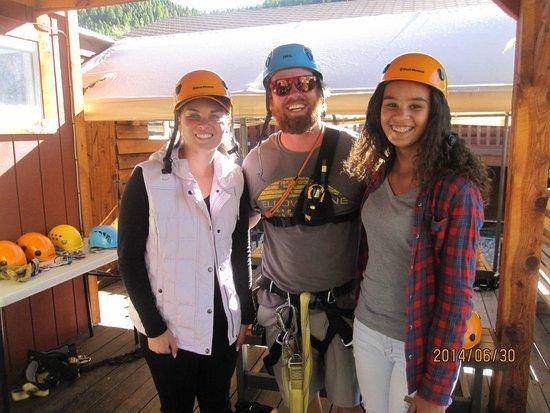 Montana Whitewater Raft Company: Tour Guide Josh