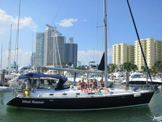 Miami Sailing - Private Day Charters: Best place -> South Beach