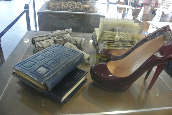 Doctor Who Experience Cardiff Bay: affaires de river song