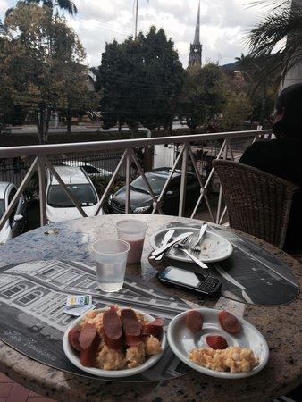 Hotel Casablanca Imperial : Café da manhã na varanda - delicioso!
